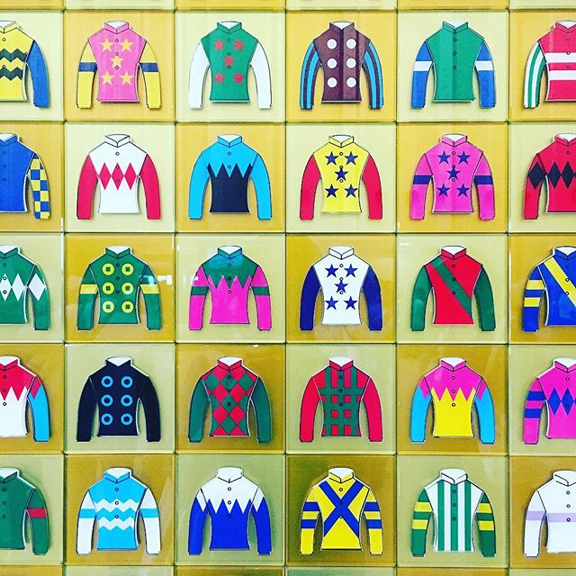 Jockey's racing uniform I found in a racecourse