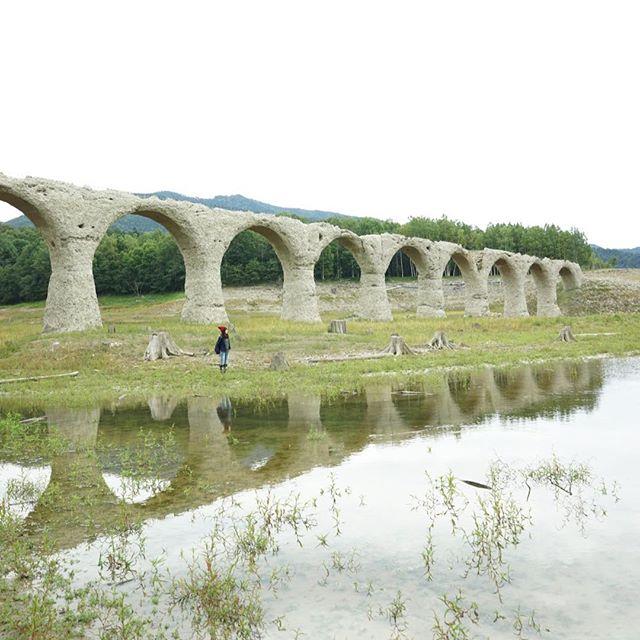 上士幌町の幻の橋