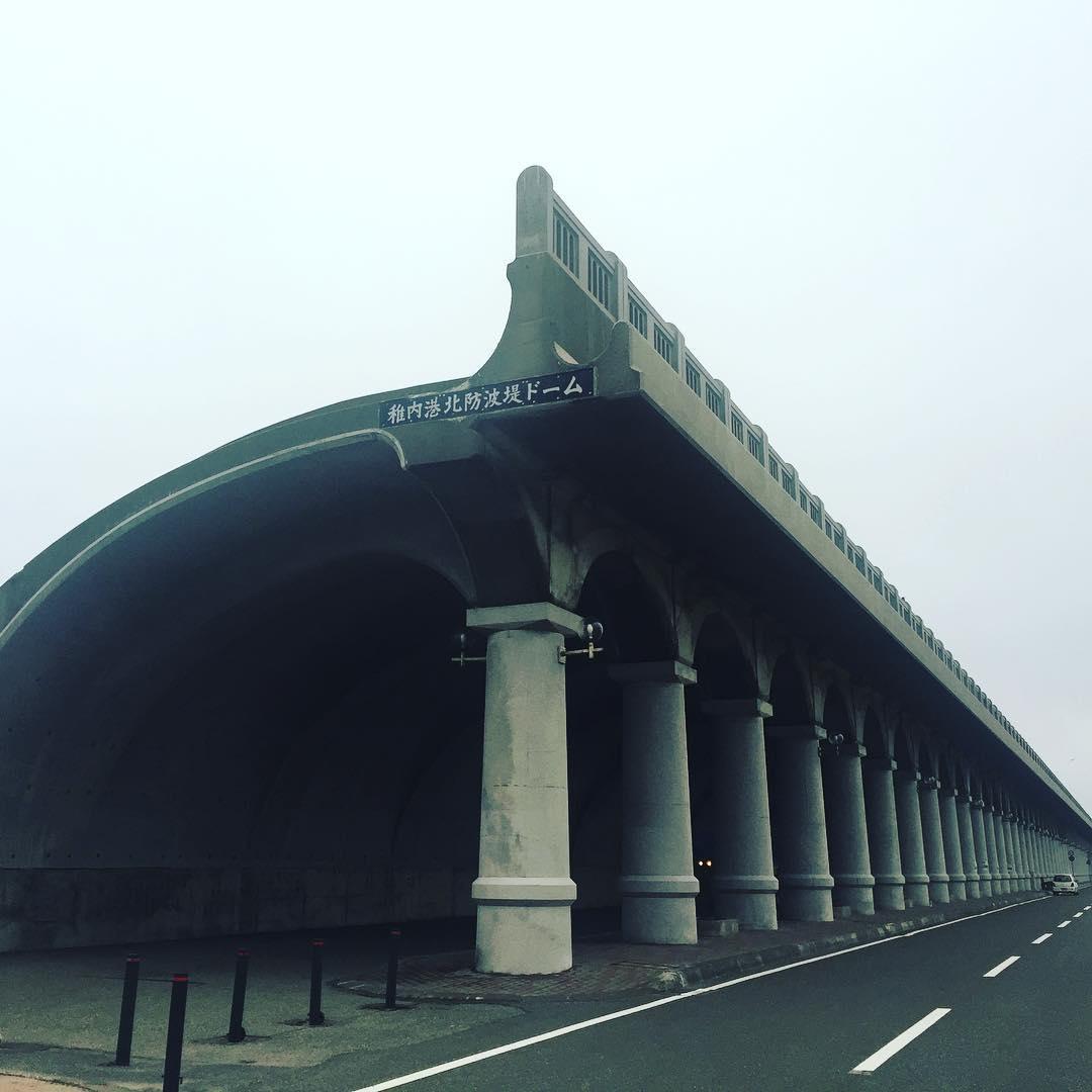 稚内港の北防波堤ドーム