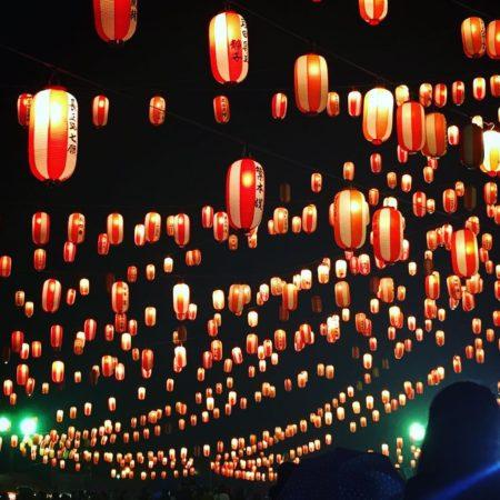 6000 lanterns of Nakashibetsu