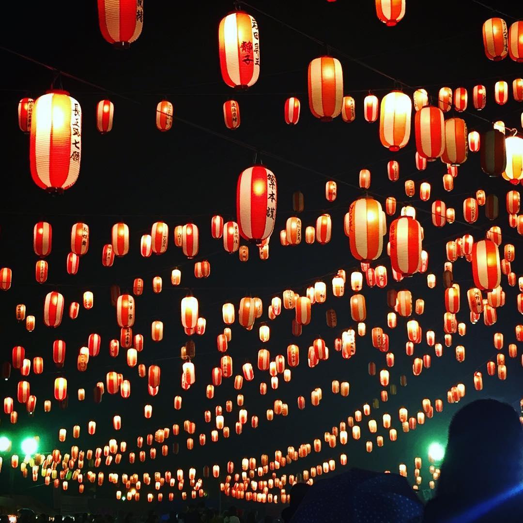 中標津町の6000個の提灯