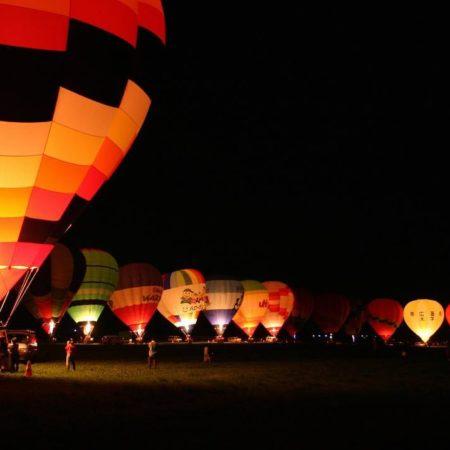 Balloon festival in Kamishihoro