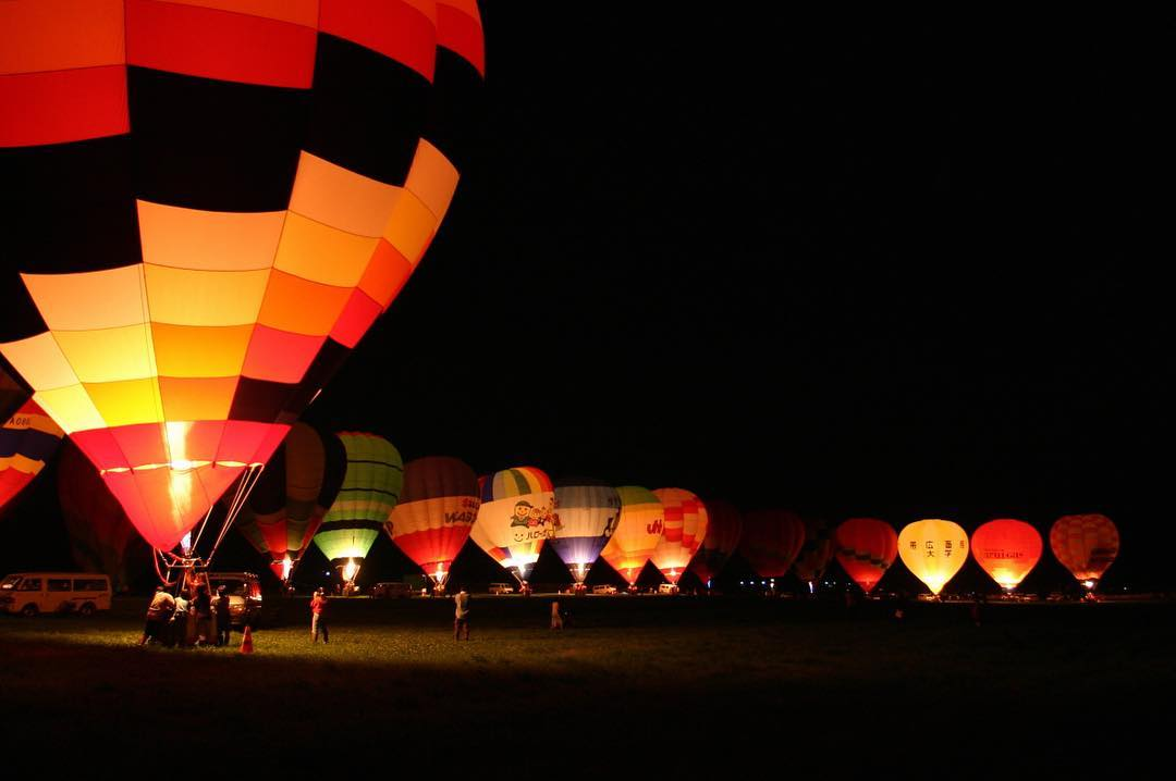 Balloon festival in Kamishihoro