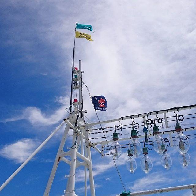 増毛町の漁船