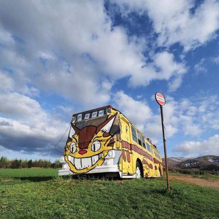 深川市の猫バス