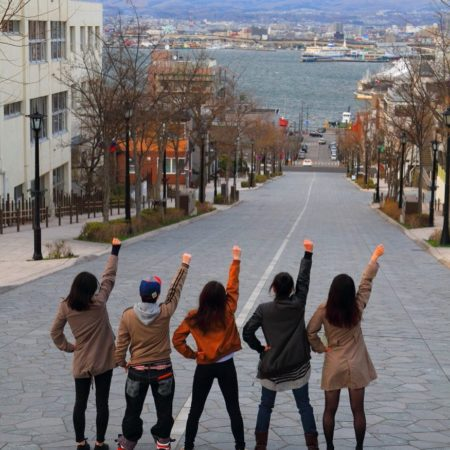 Five-youth group in Hakodate