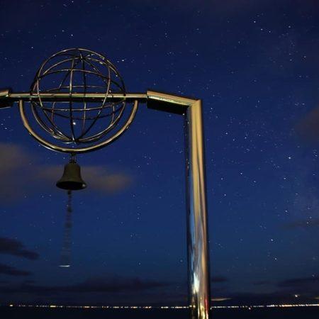 室蘭市にあるチキウ岬の鐘
