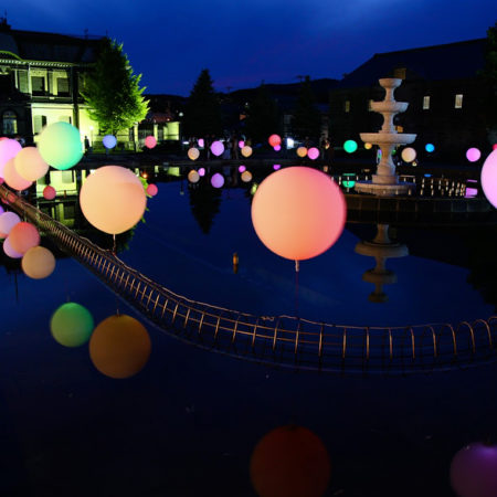 Illumination‐balloon at North Canal Renaissance