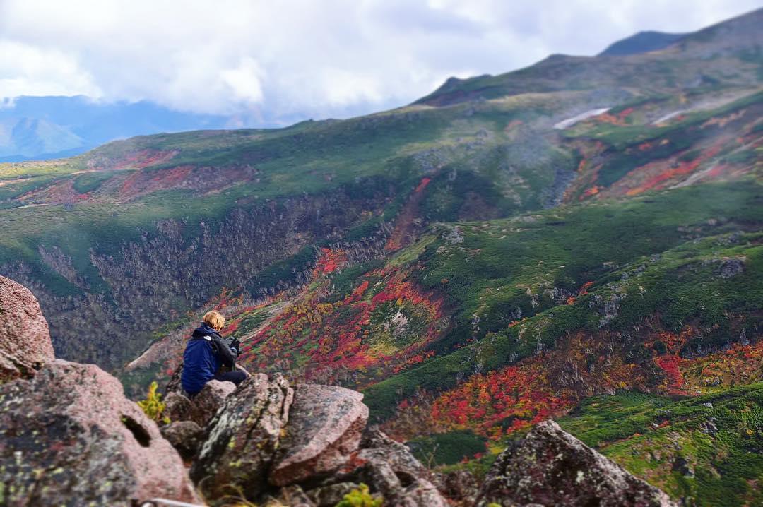黒岳から眺める大自然