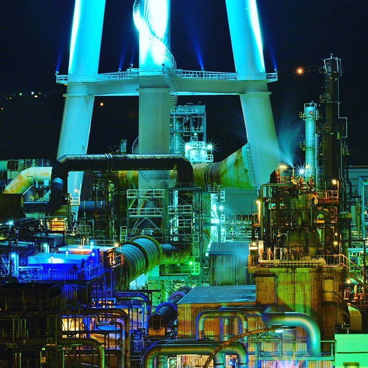 室蘭市の工場夜景