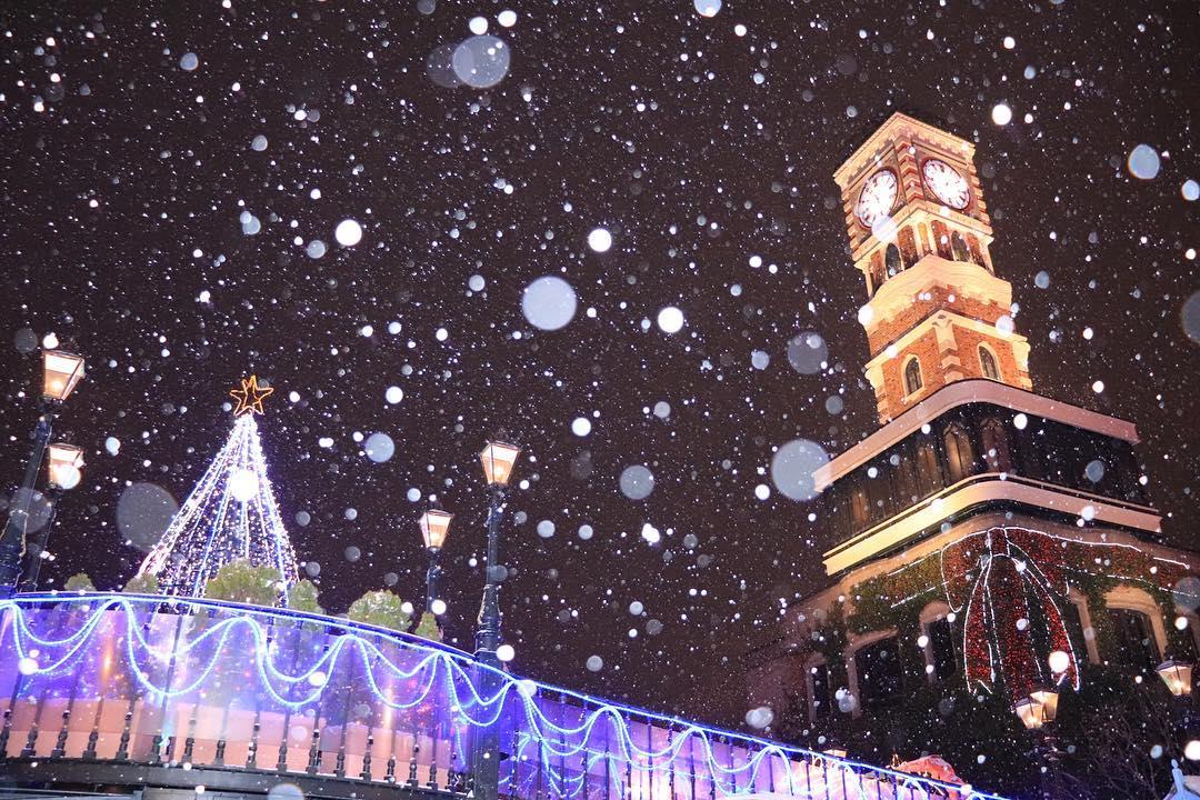 Shiroi Koibito Park in the snow