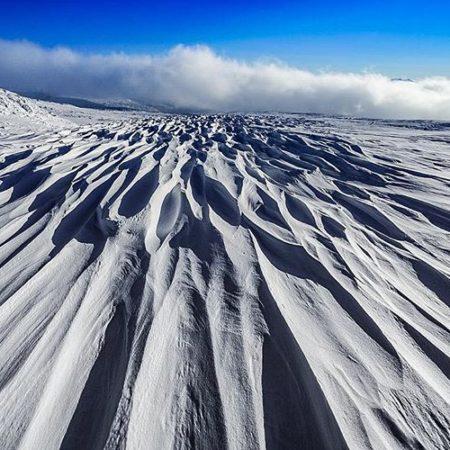 Mt. Asahidake in winter
