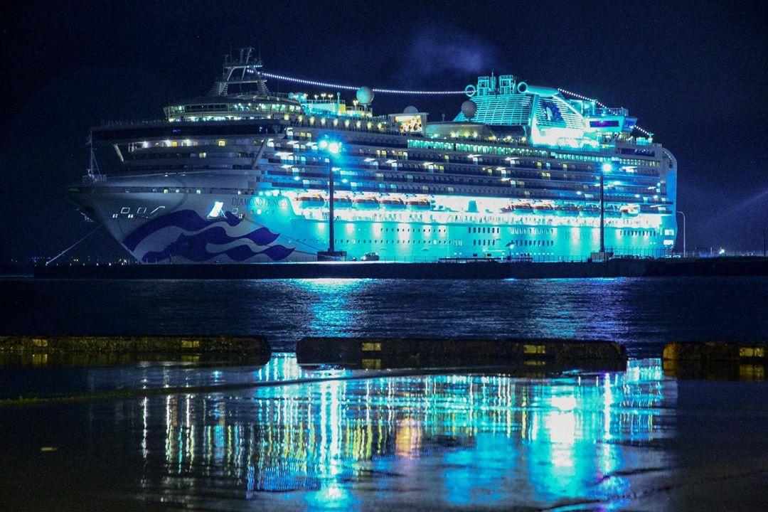 函館市のクルーズ船