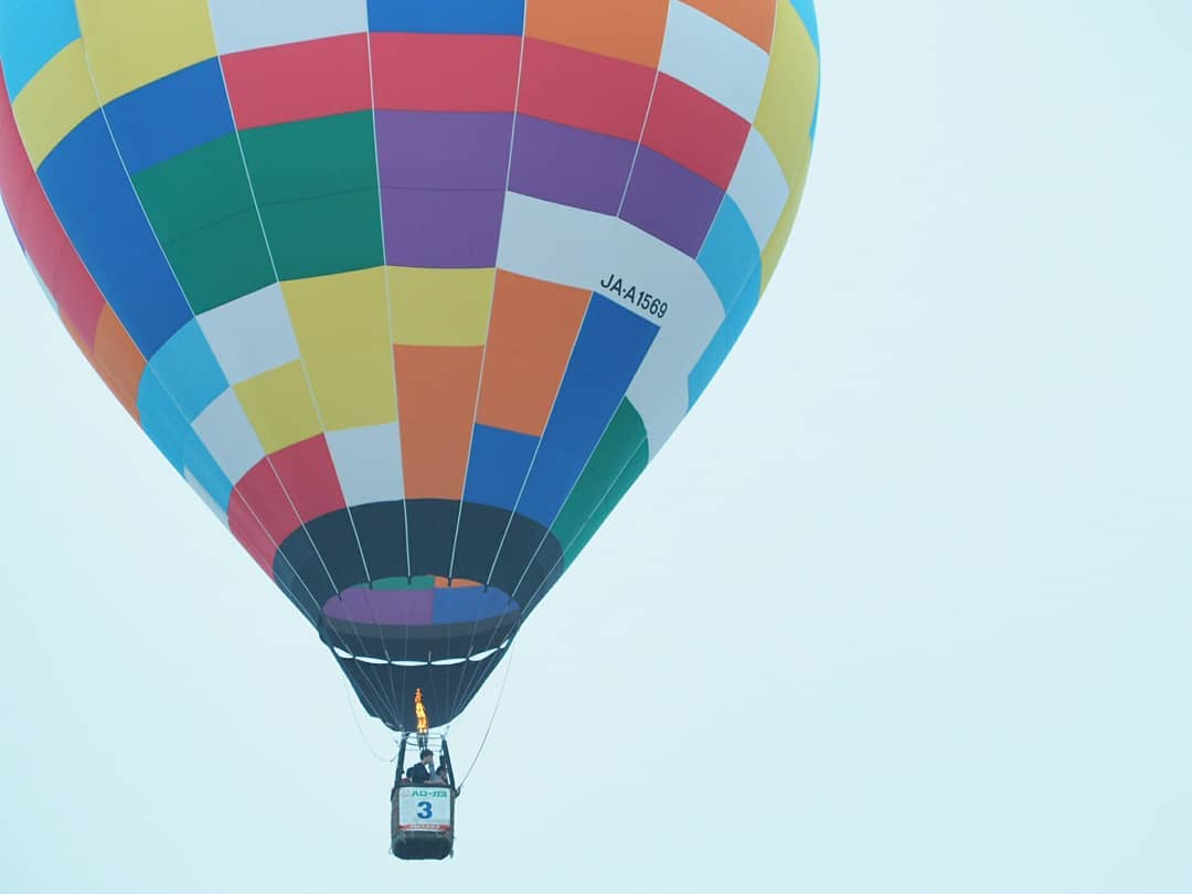 A picture of balloon festival in Kamishihoro