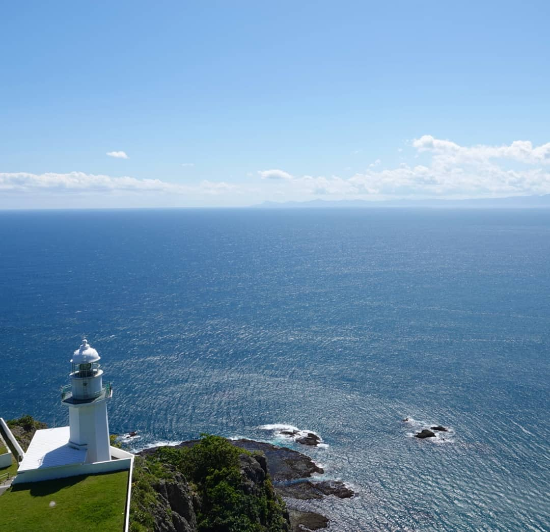 Chikiu Cape and ocean