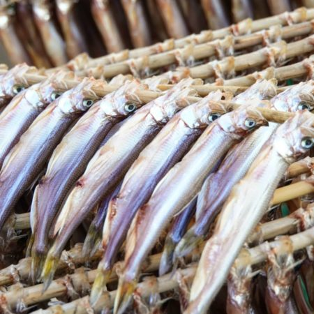 Smelt is Mukawa specialty