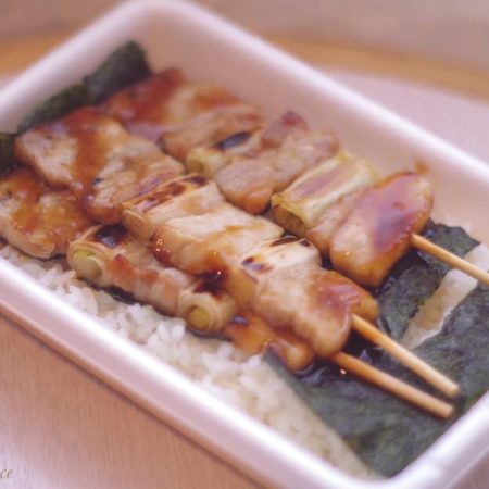 Yakitori lunch box in Hakodate