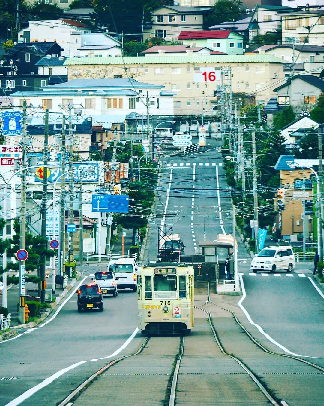 函館市のノスタルジックな風景