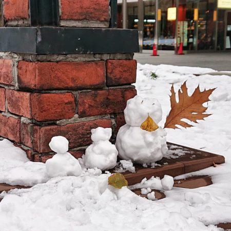 札幌市の冬の風景
