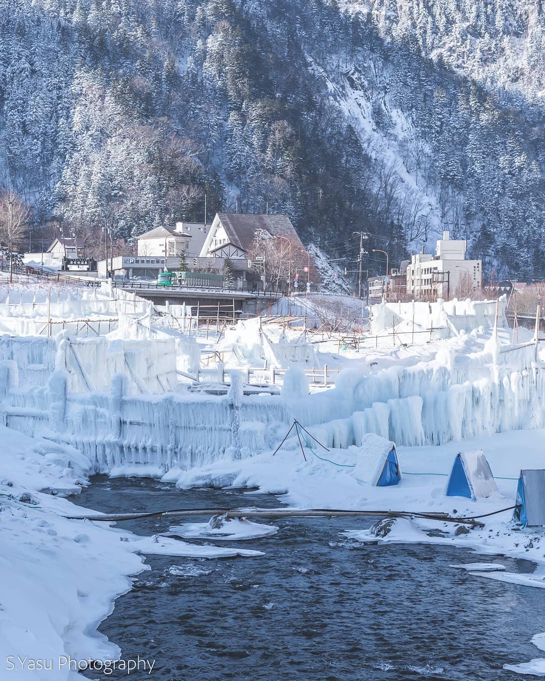 上川町の冬の風物詩