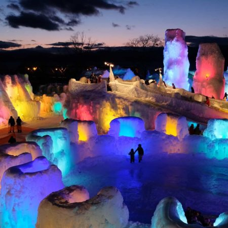 Chitose Lake Shikotsu Ice Festival