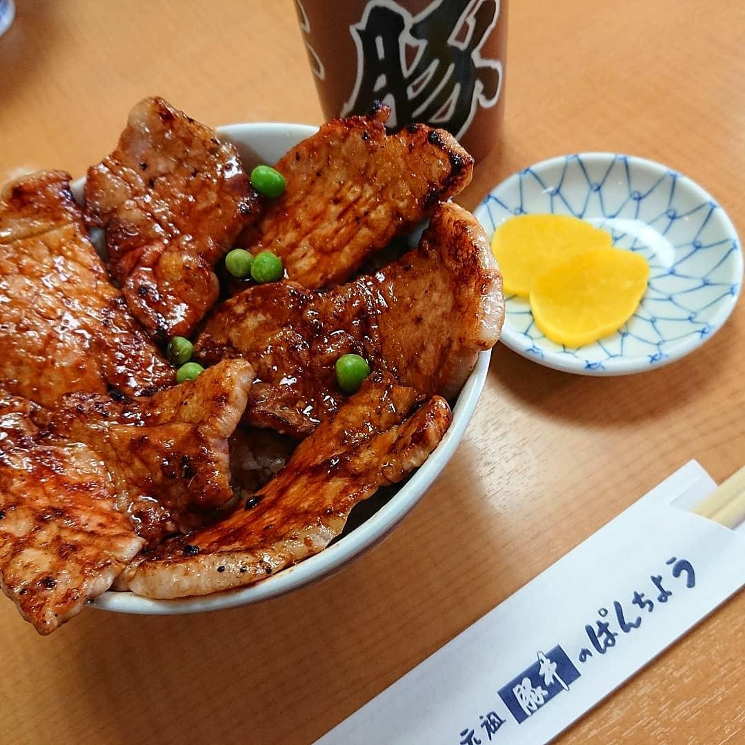 帯広市の伝統的な豚丼