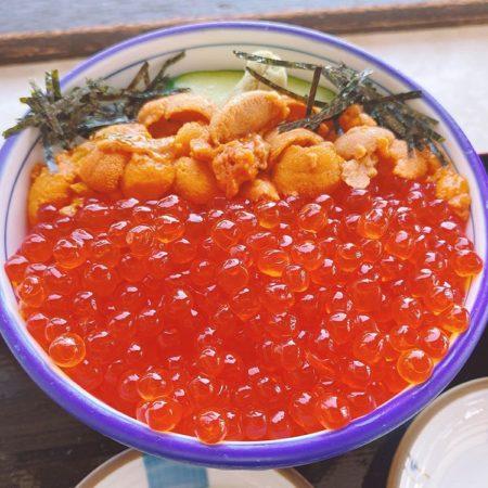 斜里町の海鮮丼