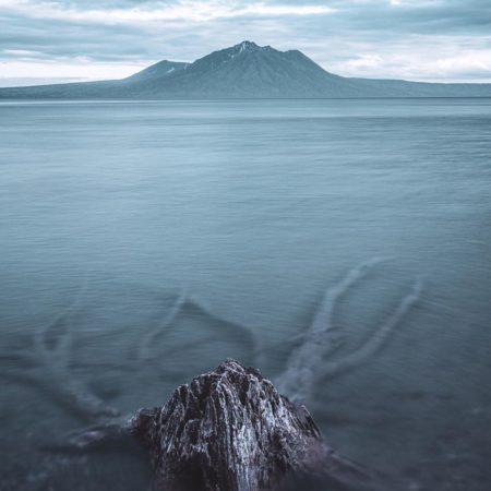 支笏湖の幻想的な風景