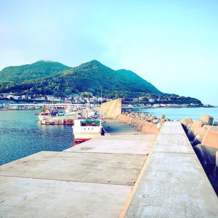 函館市の入舟漁港
