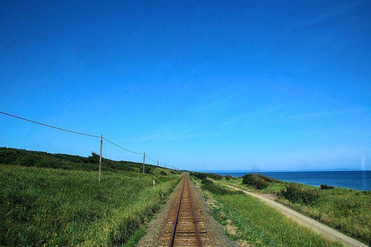 小清水町の線路