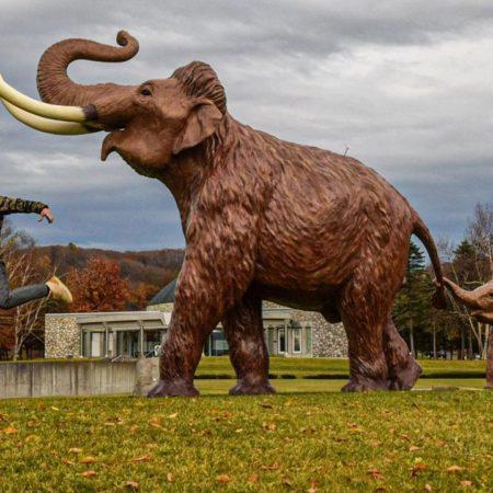 幕別町のナウマン象