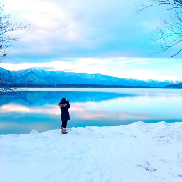 弟子屈町の雄大な屈斜路湖