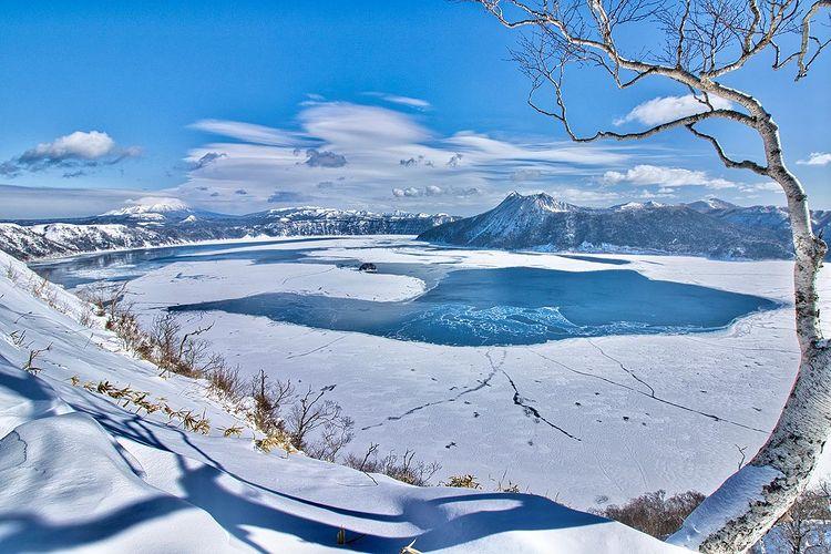 弟子屈町の美しい摩周湖