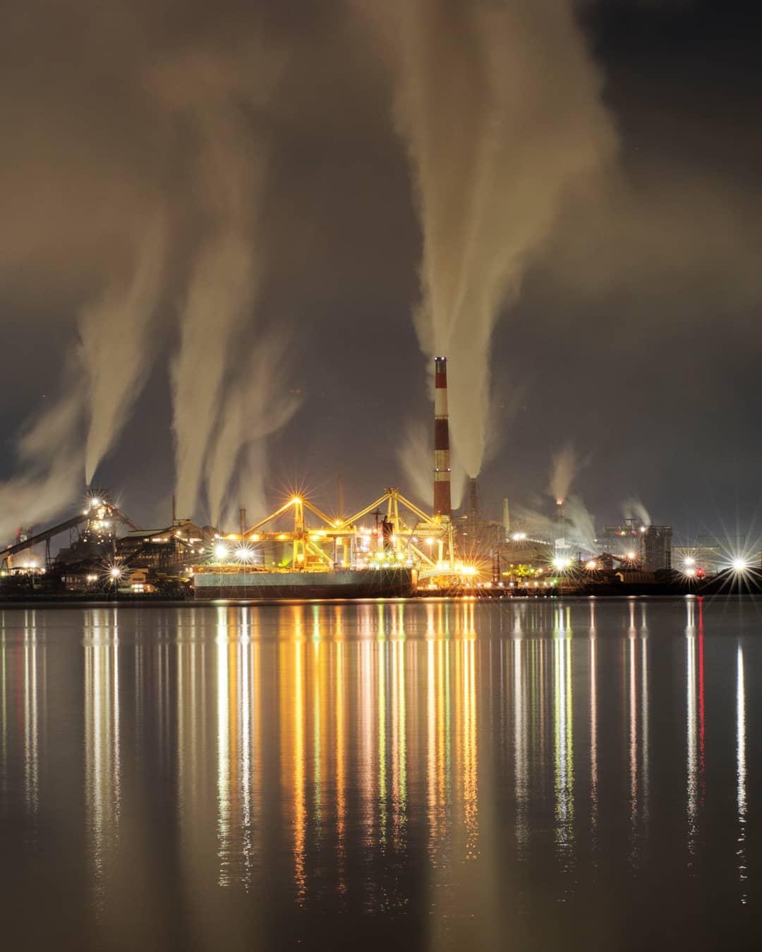 室蘭市の美しい夜景