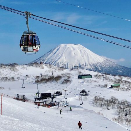 Snow Mountain and Ropeway (Niseko)