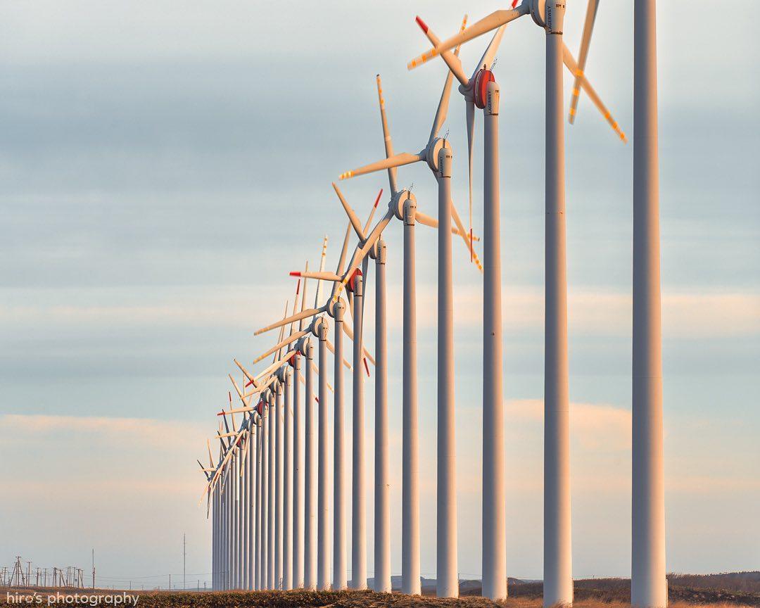28 windmills (Horonobe)