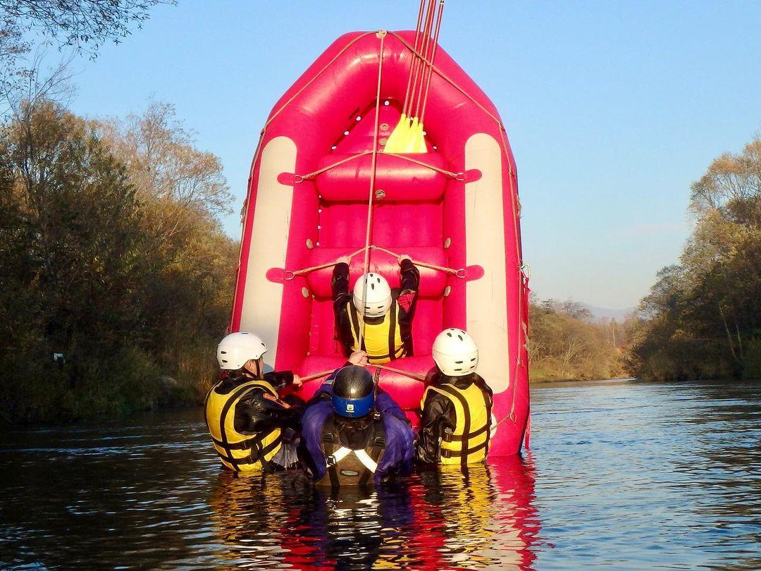 Water rafting (Kutchan)
