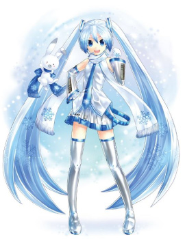 雪ミク © Crypton Future Media, INC